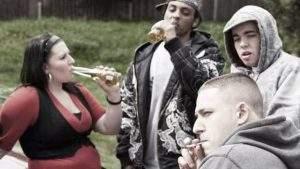 Teen addiction group
