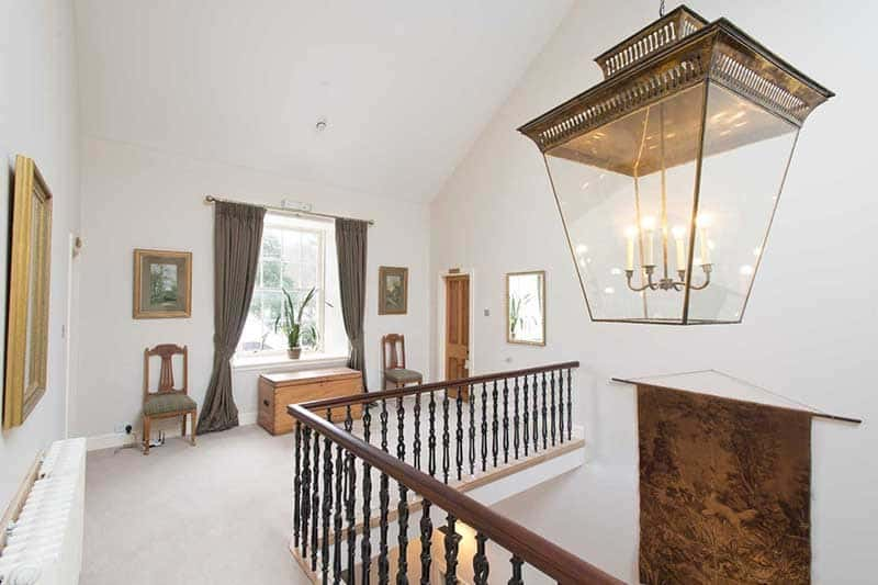 Berwickshire alcohol rehab clinic bedroom to hall