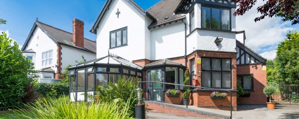 Outside private alcohol rehab clinics Shropshire